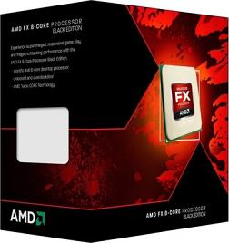 AMD Piledriver FX-8320, 3.50GHz Eight Core Processor (Socket AM3+)